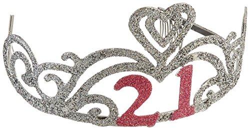 Glitter 21st Birthday Tiara Test