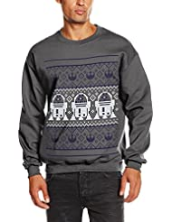 Star Wars Christmans R2D2 Knit - Sweat-Shirt - Manches Longues - Homme