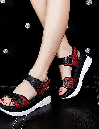 LFNLYX Scarpe Donna-Sandali / Ballerine / Sneakers alla moda / Ciabatte / Solette interne e accessori-Matrimonio / Ufficio e lavoro / Formale / Red