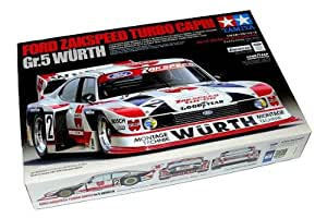 RCECHO® Tamiya Automotive Model 1/24 FORD ZAKSPEED TURBO CAPRI Gr 5 Wurth Scale 24329 mit RCECHO® Vollversion Apps Ausgabe