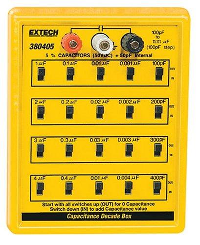Extech 380405Kapazität Substitution Box