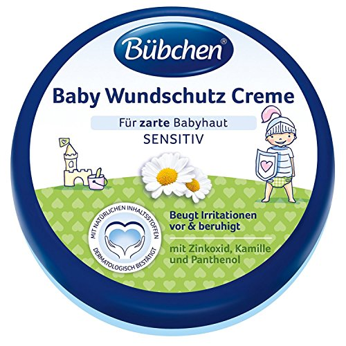 Bübchen Baby Wundschutz Creme, 4er Pack (4 x 150ml)
