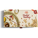 Raksha Bandhan Gift Combo Pack For Brother & Sister With Rakhi, Loaded With Dryfruits, Oats & Super Seeds, Pack...