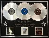 PINK FLOYD/Dreifach-Platin Album anzeigen/Limitierte Edition/COA/DARKSIDE OF THE MOON + WISH YOU WERE HERE + ANIMALS