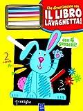 Il coniglio Gildo. Che divertimento con il libro lavagnetta! Ediz. illustrata. Con gadget