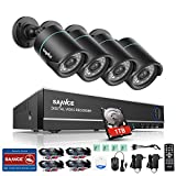 SANNCE 8CH 720P AHD CCTV Camera Systems with 4pcs Indoor/Outdoor Day Night Vision 1280x720P Bullet Cameras, USB Backup , Superior Night Vision, Free Mobile App, Easy Setup, 1TB HDD Included
