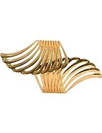 [Sponsored]Traditional Fashion Jewellery Gold Plated Adjustable Kada Cum Bracelets Bangles Jewellery For Women And Girls