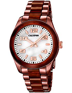 CALYPSO Damen-Uhr - Trend - Analog - Quarz - Kunststoff - UK5648/7