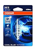 Osram 64150CBI-01B Cool Blue Intense Lámpara Halógena de Faros H1, 12 V, 55W en Blister