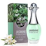 40ml Parfüm für Damen, Probe Blume Duft Zerstäuber Parfüm Flasche Glamour Reproduziert Eau de Parfum(Jasmin)