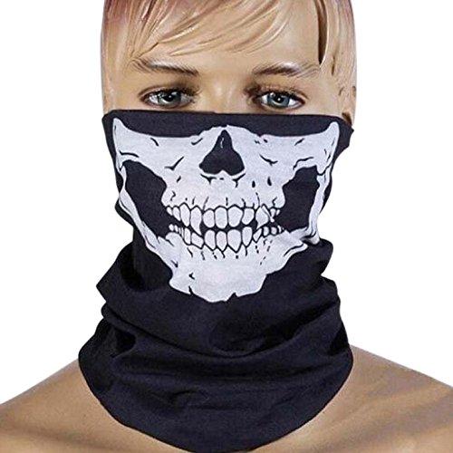Auskio-Sturmmaske-Totenkopf-2-Stcke-Motorrad-Masken-SnowboardSki-Maske-Bandana-aus-gesundes-und-weiches-Material-Ohne-Chemie-und-Geruch-fr-Kind-jugendlich-und-Erwachsener-geeignet-Ideal-frs-Ski-Motorr
