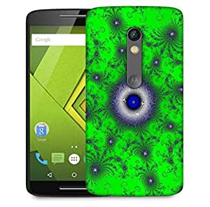 Snoogg Green Orb Designer Protective Phone Back Case Cover For Motorola Moto X Play