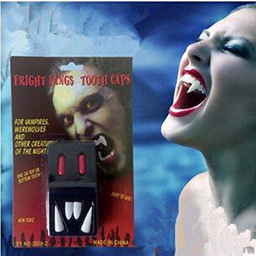 Missley Vampire Denture Diente del diablo Zombie Vampire Dentures- Halloween Party Horror dress up Props
