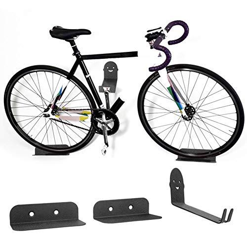 Fahrradpedal Wandhalterung Fahrradständer Abstellfläche, 100KG Fahrradwandhalterung - Wandhalterung Fahrradhalter Mountainbike Ständer Stahl Unterstützung Fahrrad Radfahren Pedal Reifen Abstellfläche (Unterstützung Fahrrad)