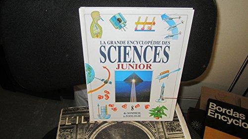La grande encyclopedie des sciences Junior volume 8 de Sommeil a Zoologie par Collectif