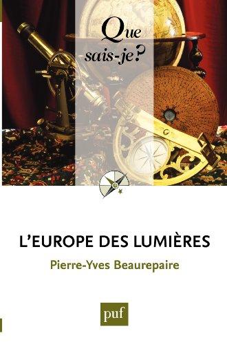 leurope-des-lumieres-que-sais-je-n-3715-french-edition