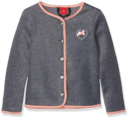 s.Oliver s.Oliver Baby-Mädchen Sweatshirt 69.807.43.3369, Grau (Grey 9730), 62