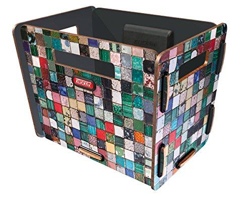KLICKfix Farradtasche Radkiste 1 Lenker Mosaik