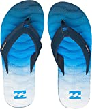 Billabong Men's Dunes Impact Fade Beach and Pool Shoes, Blue