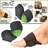 #6: SHOP ONLINE 1 Pair Foot Support Strutz Cushioned Arch Helps Decrease Plantar Fasciitis Pain