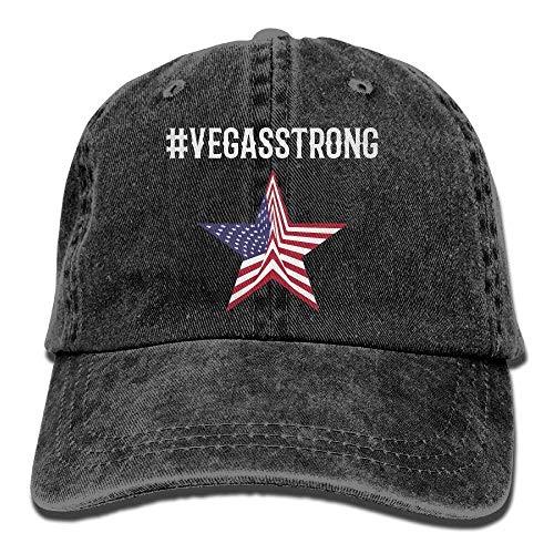 Mabaeson Men&Women Adjustable Cotton Denim Baseball Cap Vegas Strong Hiphop Cap