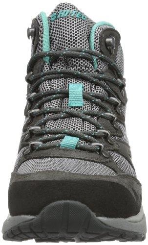 Hi-Tec V-Lite Sphike Mid WP O002790 Chaussures de trekking et de randonnée pour femme Gris - Grau (CHARCOAL/GREY/TEAL 051)