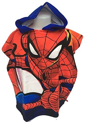 Spiderman Capa baño–Poncho baño microfibra