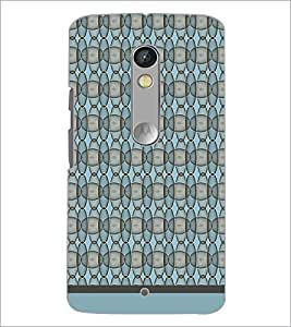 PrintDhaba Ovel pattern D-1932 Back Case Cover for MOTOROLA MOTO X PLAY (Multi-Coloured)
