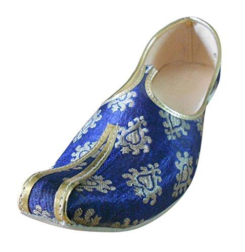 Kalra Creations , Chaussons pour homme Bleu