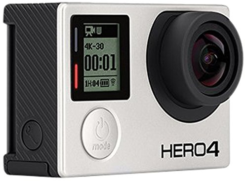 GoPro HERO4 Black Edition Motorsport - Videocámara deportiva (12 Mp, Wi-Fi, Bluetooth, sumergible hasta 40 m), color gris/negro