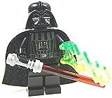 LEGO STAR WARS - Minifigur Darth Vader mit Laserschwert und Machtblitz