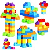 Advent Basics DIY Building Blocks for Kids with Wheel, Best Gift Toy, Multicolor