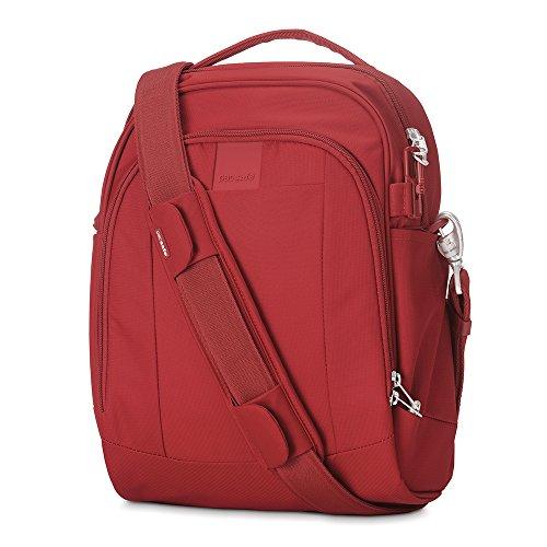 Pacsafe Metrosafe LS250 - Schultertasche Vintage Red