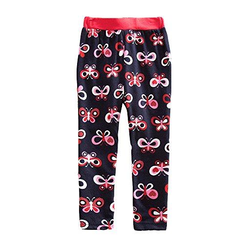 VIKITA Leggings Baumwolle Mädchen 1-8 Jahre (2-3 Jahre=95-100cm, G5229)