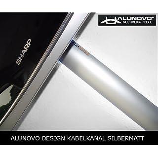 Alunovo Kabelkanal (L x B x H) 250 x 80 x 20 mm silver (matt, eloxiert) Inhalt: 1 St.