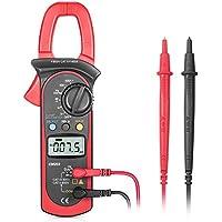 Pinza amperimétrica, Synerky 4000 cuenta voltímetro True RMS CA/CC multímetro automático, corriente CA/CC, resistencia, frecuencia, diodo, probador Hz con