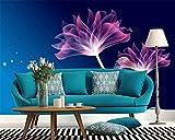 BZDHWWH Benutzerdefinierte Tapete Fantasy Blumen 3D Fototapete Wandbild Schlafzimmer Wohnzimmer TV Wand 3D Tapete Papel Pintado,50cm (H) x 70cm (W)