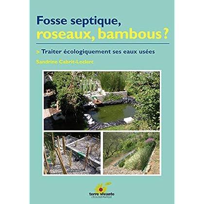 Fosse septique, roseaux, Bambous ? Traiter écolgiquement ses eaux usées