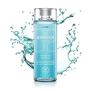Dermafique All Important Alcohol free Skin Toner for All Skin Types including Oily, Acne Prone, Sensitive & Normal Skin, with Vitamin E, Paraben Free, SLES Free, with AHA, with Hyaluronic Acid   Dermatologist Tested (150 ml)   Face toner for Cleansing, Hydration, Glowing Skin