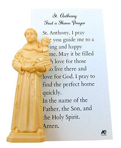 Westman Funktioniert ST Anthony Home Finder Kit St. Statue und Gebet für kaufen Ein Haus