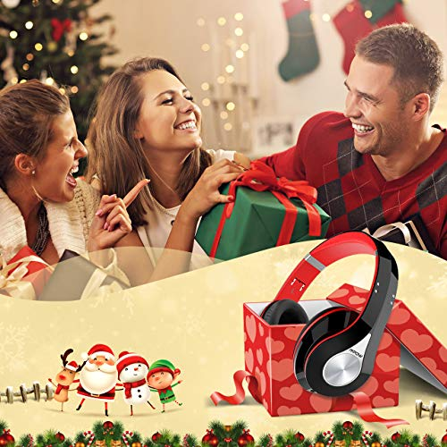 Mpow 059 Auriculares Diadema,  Cascos Bluetooth Inalambricos Plegable con Micrófono,  20 hrs Reproducción de Música,  Hi- Fi Sonido Estéreo,  Ligero,  Manos Libres,  PC,  Móviles