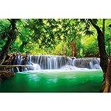 great-art XXL Poster - Wasserfall Feng Shui - Fotoposter