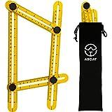 aboat angle-izer Vorlage Werkzeug, Mehrwinkel Lineal Vorlage Maßnahmen alle Winkel und Formen für Heimwerker, Builders, Handwerker,