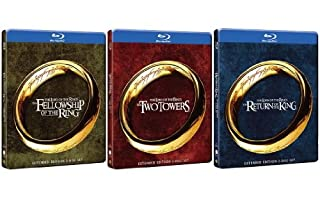 The Lord Of The Rings Trilogy STEELBOOK Extended Edition 6 Blu-ray (B00HT8XASA) | Amazon price tracker / tracking, Amazon price history charts, Amazon price watches, Amazon price drop alerts