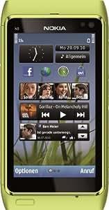 Nokia N8 Smartphone (8.9 cm (3.5 Zoll) Display, Touchscreen, WiFi, 12 Megapixel kamera) lime