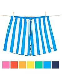 Dock & Bay Pantalones Cortos de Baño para Hombre Bañadores de Playa de Secado Rápido