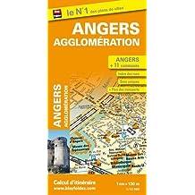 Plan d'Angers et de son agglomération