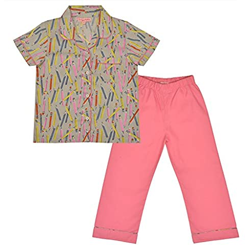 crayonflakes Bambini indossare per le ragazze cotone rosa notte Suit
