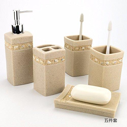 funf-stucke-aus-sandstein-bad-harz-fach-waschen-anzug-zahnburste-rack-badezimmer-liefert-mehrere-sat