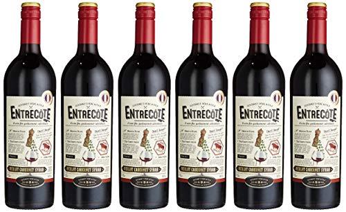 Entrecote Merlot Cabernet Sauvignon IGP Pays d\'Oc (6 x 0.75 l)